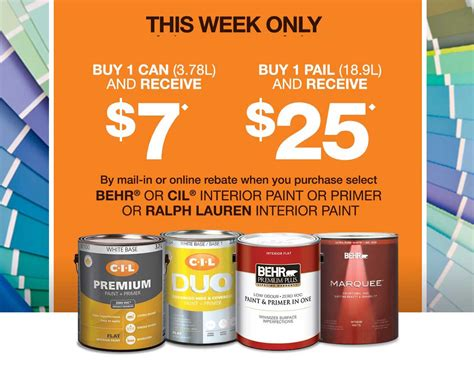 home depot paint discount program the home depot canada paint coupons receive up to 25