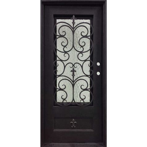 home depot wrought iron paint iron doors unlimited 37 5 in x 81 5 in orleans classic 3