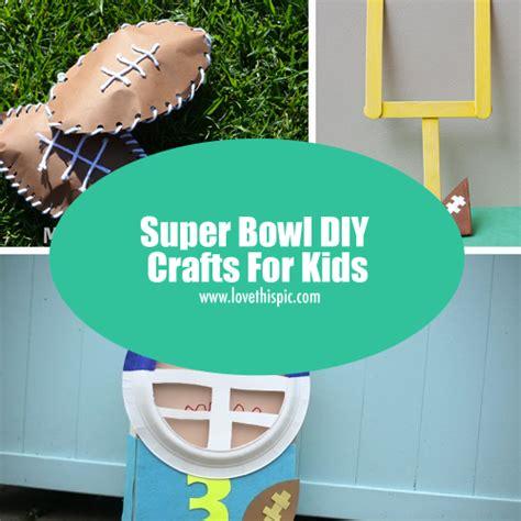 superbowl crafts for bowl diy crafts for
