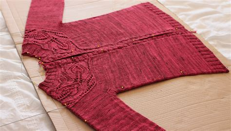 how to block a knit sweater so you want to knit a sweater stitch and unwind