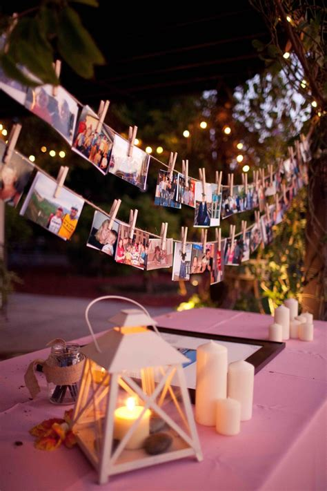 photo of decorations 21 fabulous wedding photo display ideas reception