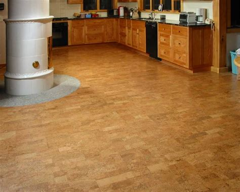 cheap kitchen flooring ideas kitchen design with cork flooring ideas for big space