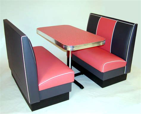 restaurant booths and tables miami deco diner booth kitchen seating furniture retro