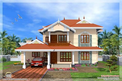 beautiful new style home plans in kerala new home plans design