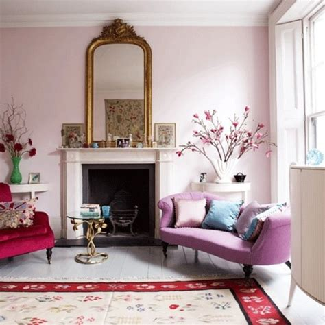 pink paint colors for living room living room pink walls paint color