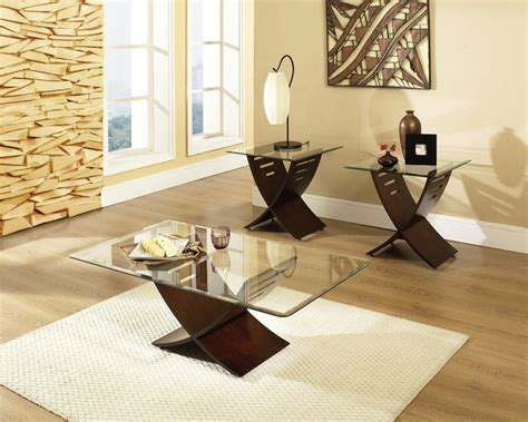 glass living room table sets living room x shaped legs with rectangular glass top