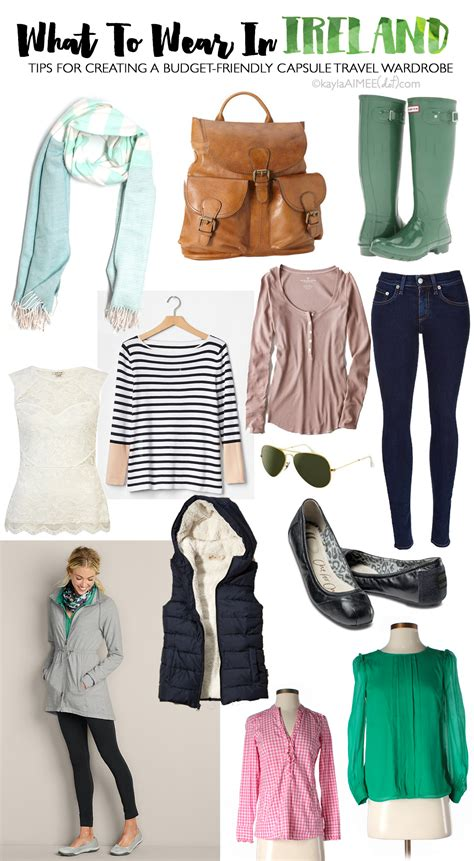 what to wear in what i wore in ireland packing for ireland in the