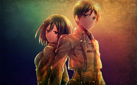 attack on titan eren and mikasa eren attack on titan quotes quotesgram