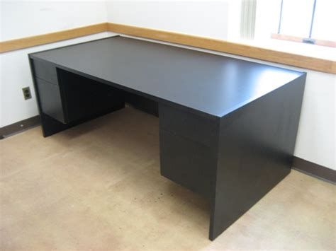 black office desks contemporary office desks item imtl384 black office