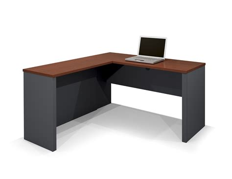computer desk l shape bestar prestige l shaped desk