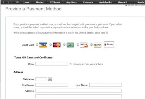 make an itunes account without credit card how to open a free itunes account in any country without a