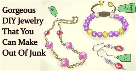 jewelry you can make gorgeous diy jewelry that you can make out of junk
