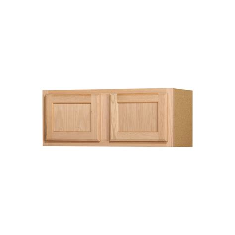 lowes cabinets unfinished shop kitchen classics 12 in x 30 in x 12 in oak unfinished door kitchen wall cabinet at