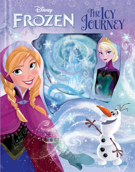 frozen picture book disney frozen the icy journey book by disney frozen