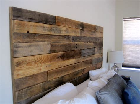 make wood headboard reclaimed wood headboard by elkdesignco on etsy