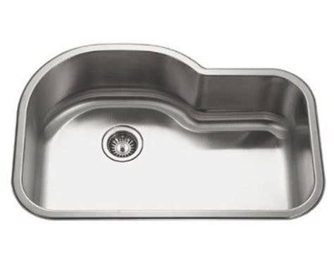 stainless steel undermount single bowl kitchen sink 32 inch stainless steel undermount offset single bowl
