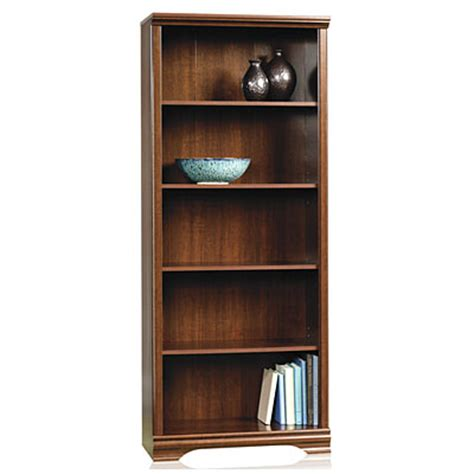 sauder bookcase 5 shelf sauder 174 5 shelf bookcase big lots