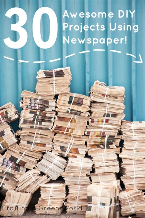 crafts with newspaper for 30 awesome diy projects using newspaper crafting a