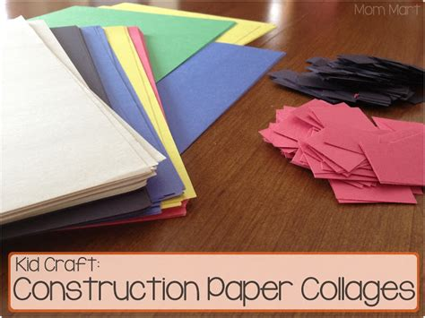 crafts made with construction paper mart kid craft construction paper collage