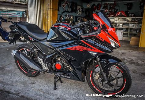 Modifikasi Motor Cbr by Modifikasi Motor Cbr 150 Facelift Kumpulan Modifikasi