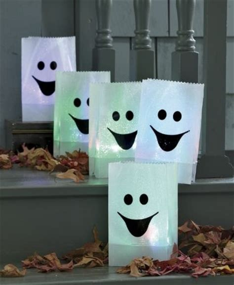 paper bag ghost craft quot paper bag ghost quot luminaries diy and craft ideas