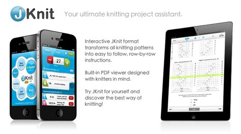 knitting apps jknit knitting project assistant by jakro soft