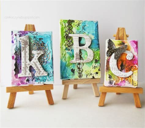 canvas craft ideas for mini canvas projects craft ideas