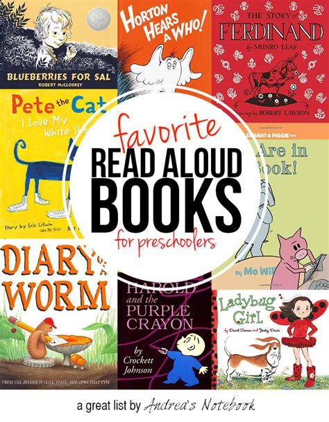 read aloud picture books top 10 favorite books for preschoolers andrea s notebook