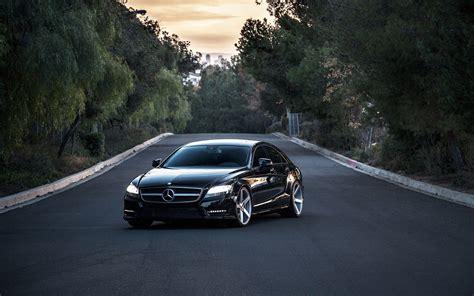 Car Wallpaper Mercedes by Mercedes Black 1 Widescreen Car Wallpaper