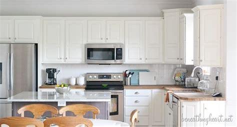 dove white kitchen cabinets kitchen makeover reveal beneath my
