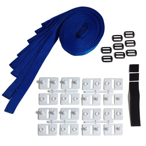 solar cover reel straps universal solar kit by horizon solarcovers