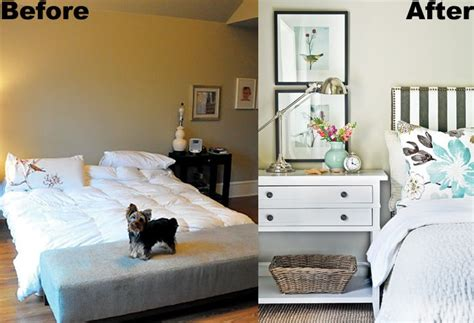 before and after bedroom makeovers bedroom makeover before and after humble abode