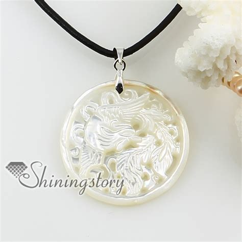 shell pendants jewelry cameo openwork sea water white oyster shell