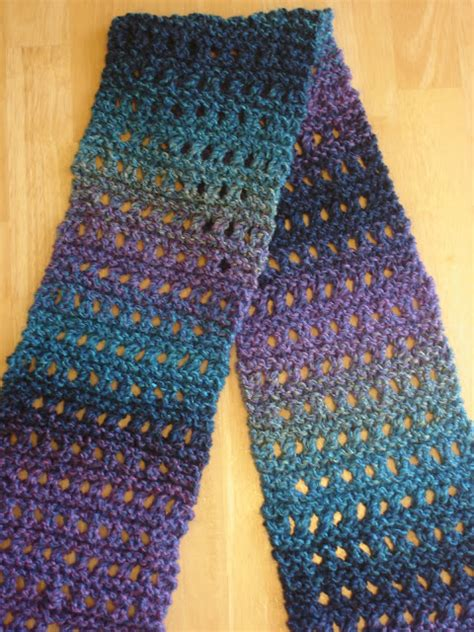 scarf knitting patterns for beginners fiber flux free knitting pattern tweedy eyelet scarf