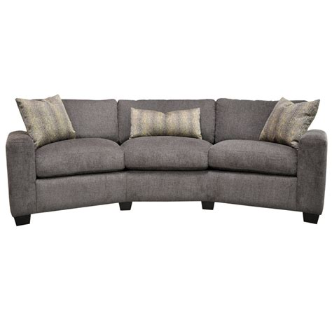 blake conversation sofa by omnia leather usa made free