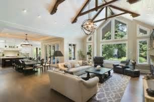 open kitchen dining and living room floor plans open floor plan home ideas open floor