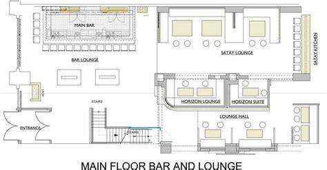 bar floor plans lounge floor plan home design