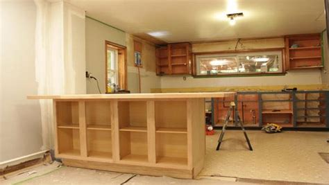 how to make a kitchen cabinet diy kitchen island knock it the live well network