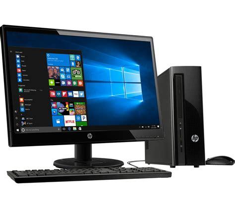desk top pc buy hp 260 a104na desktop pc 22kd hd 21 5 quot led