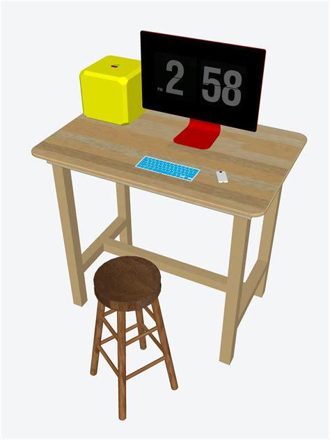 standing desk stools sedentary lifestyle