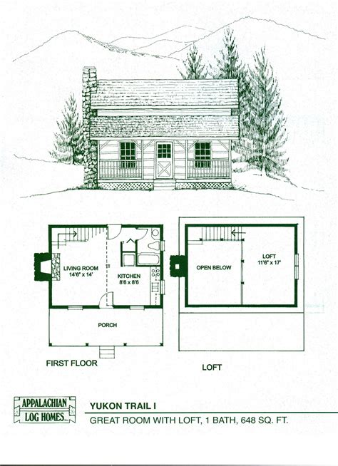 log cabin floor plans and pictures log home package kits log cabin kits yukon trail i model