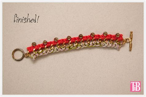 bead bracelets diy diy crochet beaded bracelet