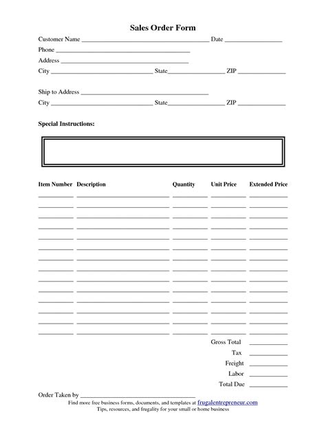 forms templates word order form template e commercewordpress