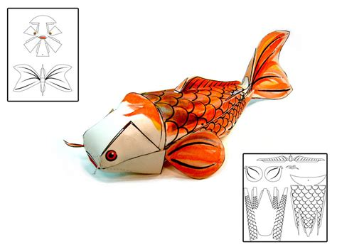Koi Fish Papercraft By Risingkirin On Deviantart