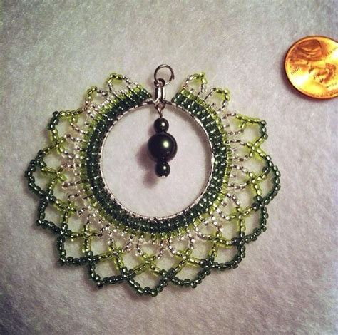 bead netting necklace 17 best images about netting stitch on