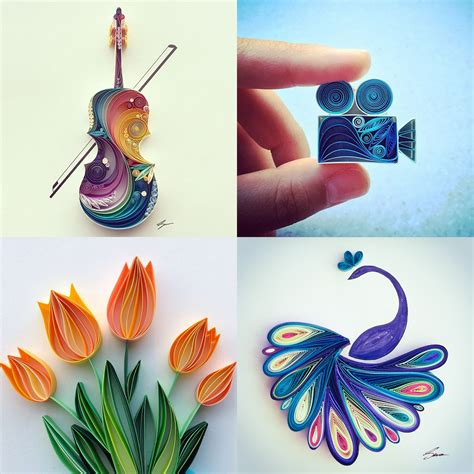 craft paper design quilling colossal