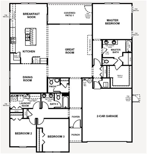 richmond homes floor plans richmond american floor plans