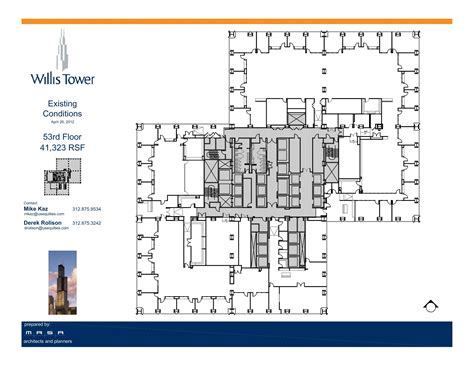 tower floor plans willis tower floor plans chicago il usa