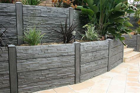decorative concrete blocks for garden walls inspiring retaining walls ideas corner