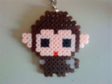 the bead monkey monkey hama perler pyssla hama